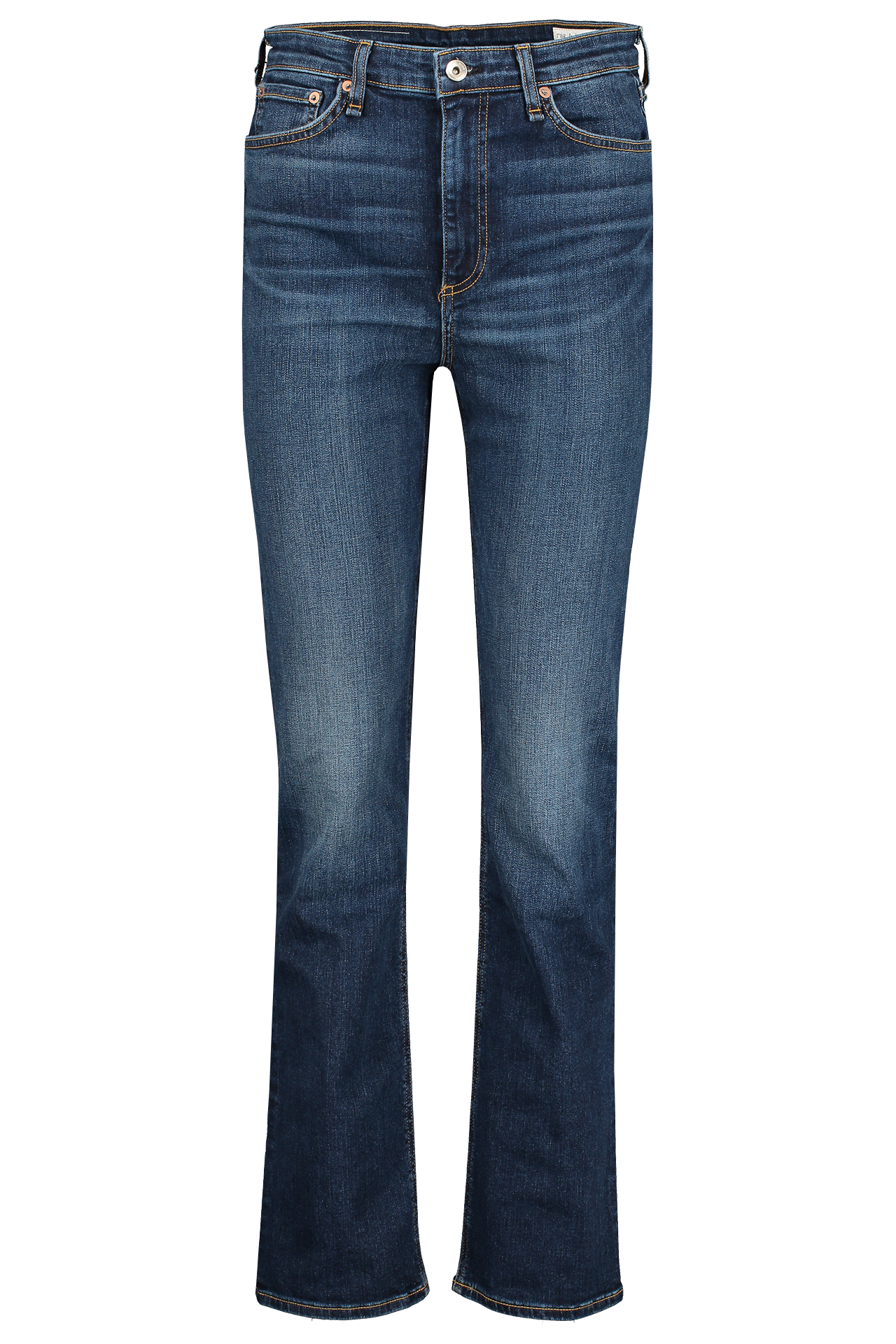 Front view image of Rag & Bone Women's Nina High Rise Cigarette Jeans