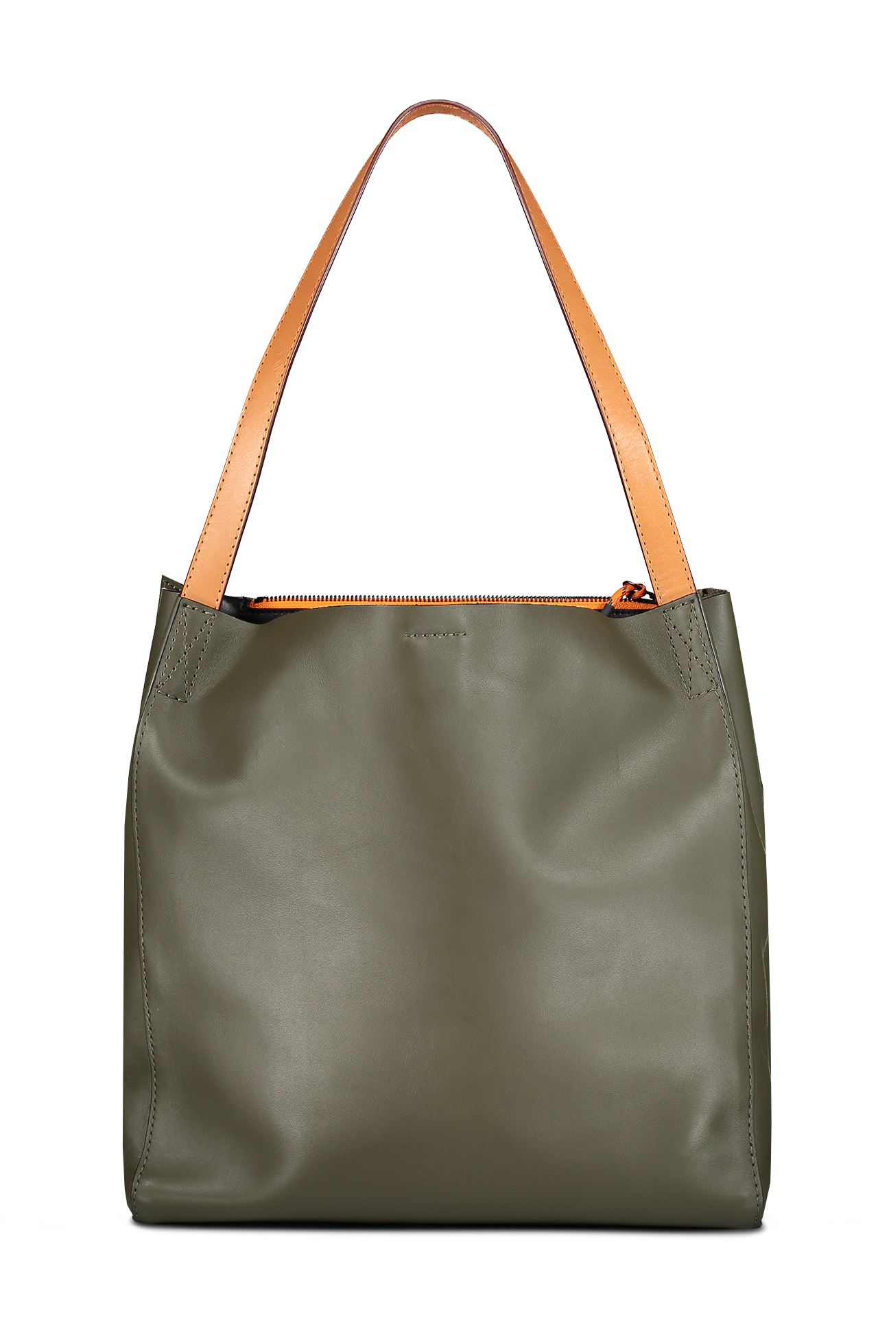 Front image of Rag & Bone Women's Passenger Tote Olive Green