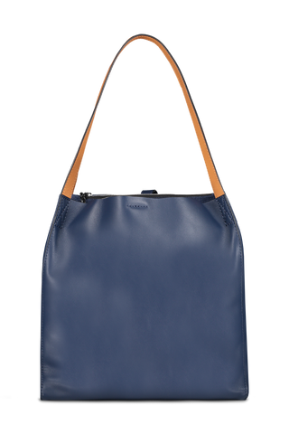 Front Image Of Rag & Bone Women's Passenger Tote Royal Blue