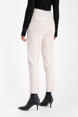 Back Crop Image Of Model Wearing Rag & Bone Women's Poppy High Waisted Pant