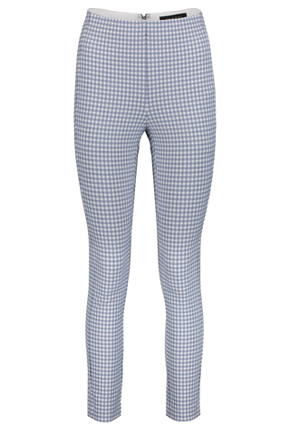 Women's Simone Gingham Pant Blue White