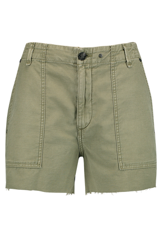 Front Image Super High-Rise Army Short