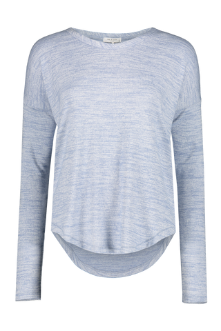 The Knit Long Sleeve Dusk Lavender