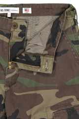 Zipper fly detail image of RE/DONE Cargo Pant