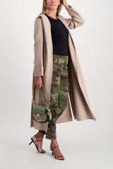 Full Body Image Of Model Wearing RE/DONE Cargo Pant