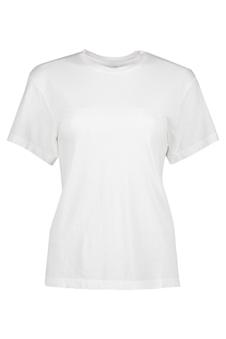 Front image of RE/DONE Girlfriend Tee White