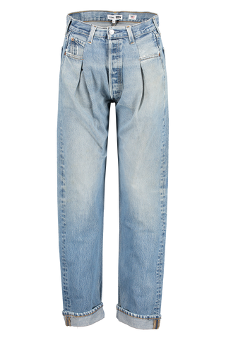 Front detail image of RE/DONE 40s Zoot Denim