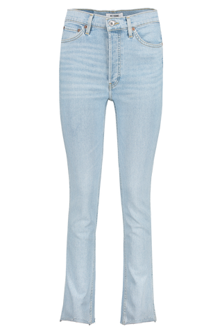 80's Slim Straight Denim Light