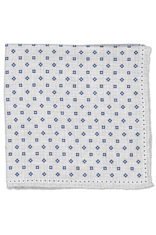 Aerial View Square Pattern Pocket Square