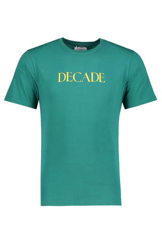 Front Image Of Saturdays NYC Decade Display Tee