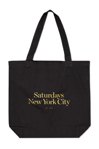 Front view image of Saturdays NYC Men's Miller Standard Tote