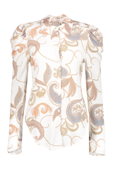 Front image See By Chloé Long Sleeve Paisley Blouse