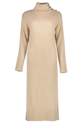 Front image of See By Chloé Women's Long Sleeve Turtleneck Sweater Dress