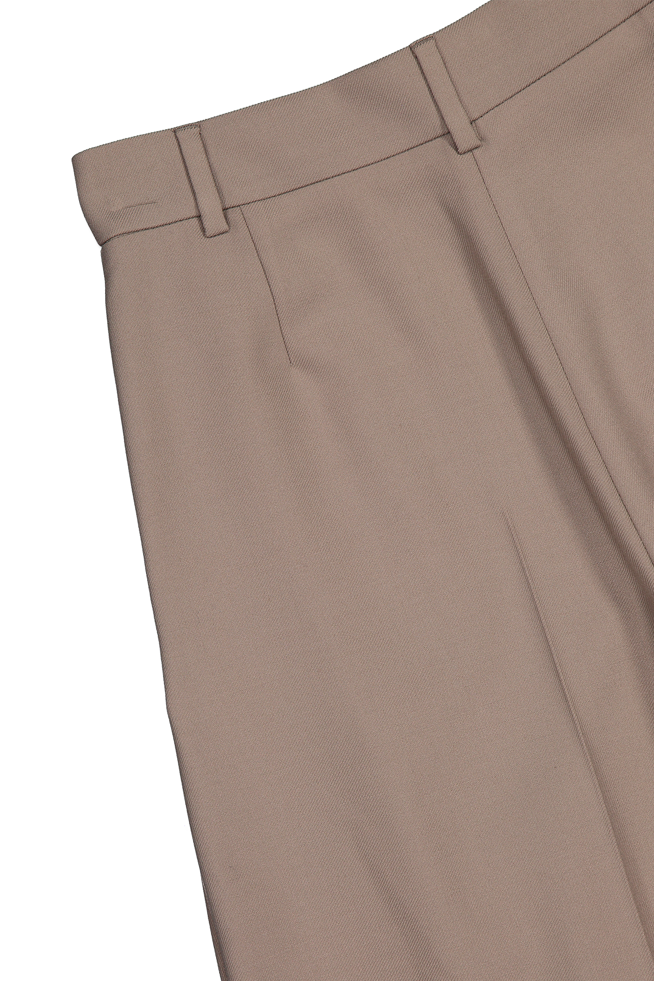 Back detail image of See By Chloé Pleated Trouser