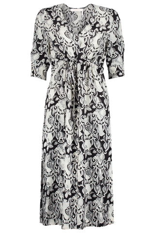 Front view image of Printed Maxi Dress