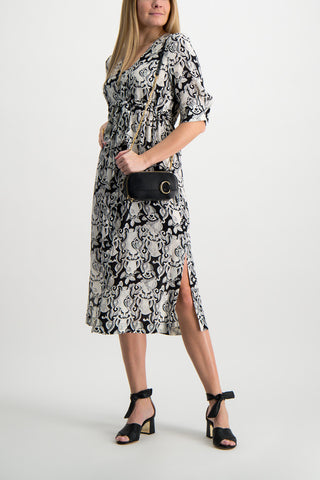 Full Body Image Of See By Chloé Printed Maxi Dress