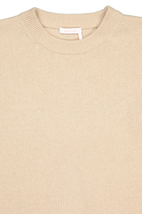 Neckline detail image of See By Chloé Short Sleeve Sweater