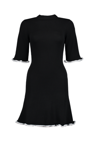 Short Sleeve Sweater Dress