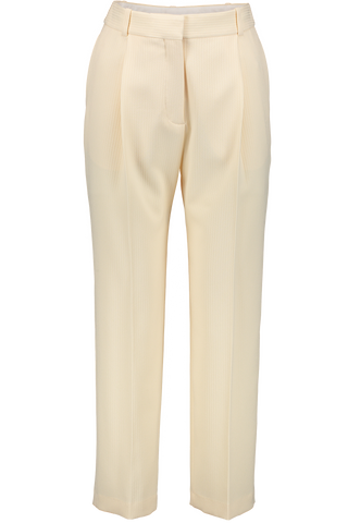 Solid Pleated Trouser