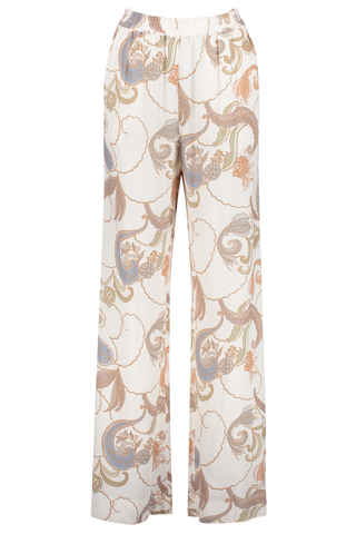 Front image of See By Chloé Wide Leg Paisley Trouser