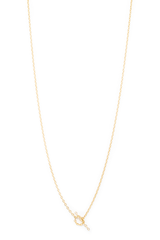 Full Image Chain Necklace 06 18k Yellow Gold