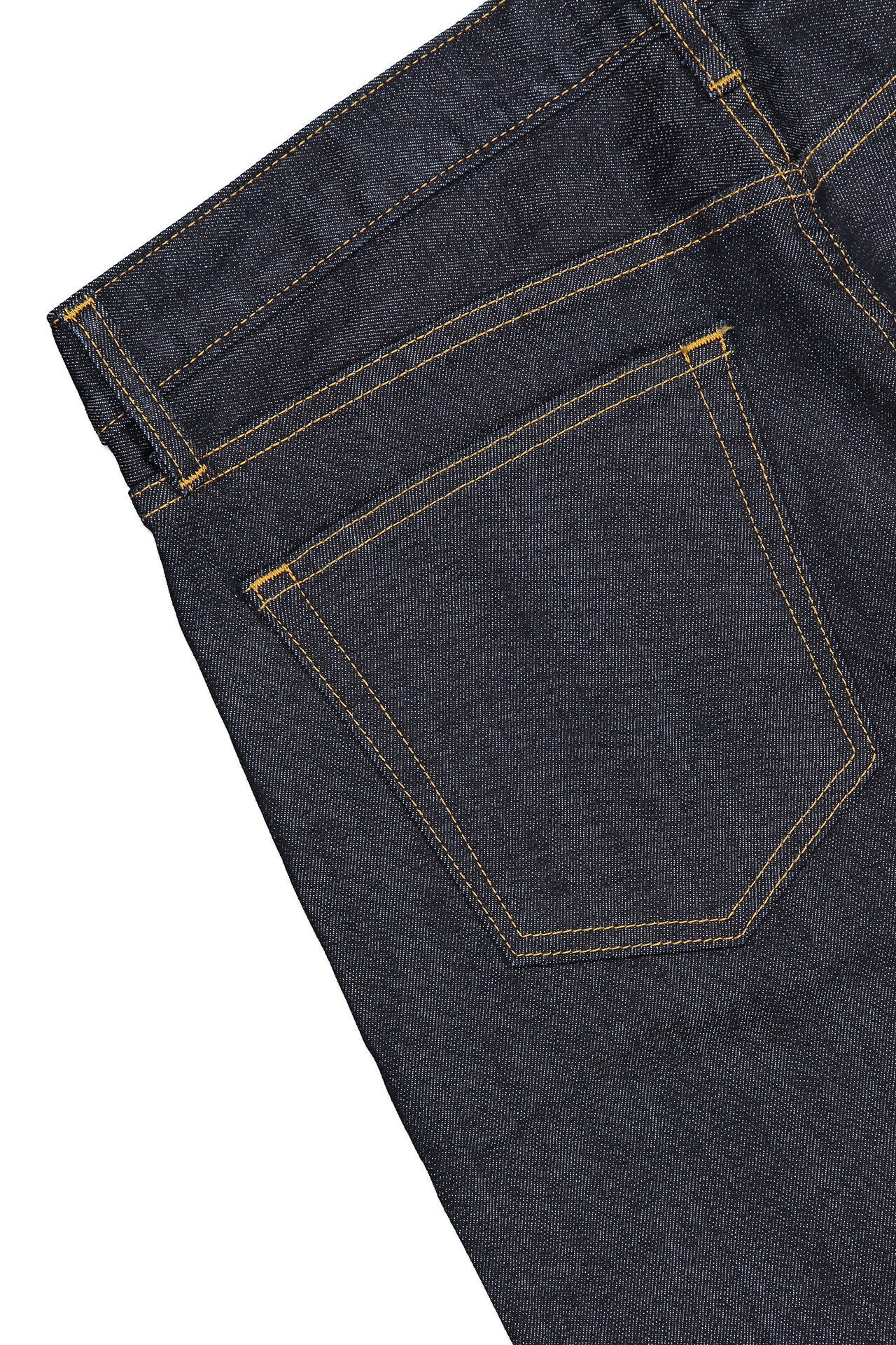 Back pocket detail image of S.M.N. Denim Finn Tapered Slim Bravo