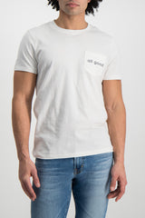 Front Crop  Image Of Model Wearing Image Of Sol Angeles All Good Pocket Tee