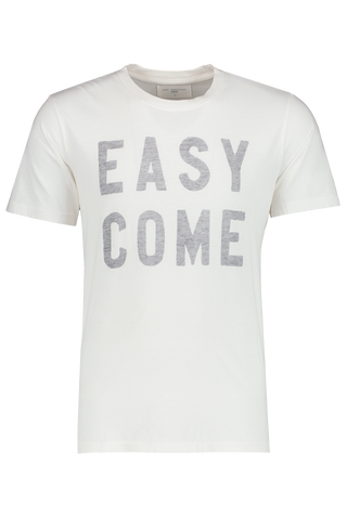 Men's Easy Come Crewneck White