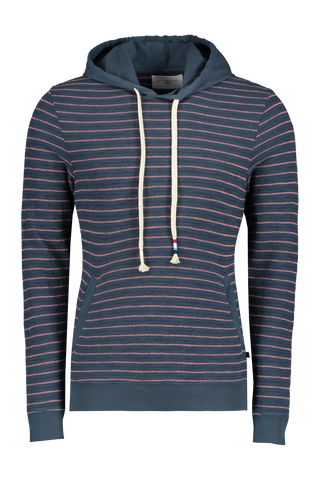 Front Image Of Sol Angeles Monterey Stripe Hoodie Jasper