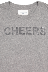 Neckline and logo detail image of Sol Angeles Women's Cheers Graphic Tee