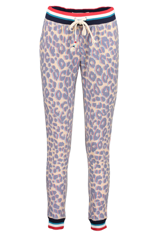 Front view image of Sol Angeles Women's Sol Leopard Jogger