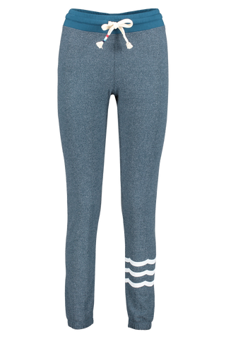 Front view image of Sol Angeles Women's Waves Hacci Slim Jogger