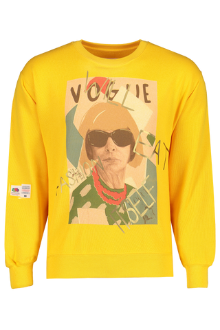 Front view image of Sold Out Crewneck Vogue Sweatshirt