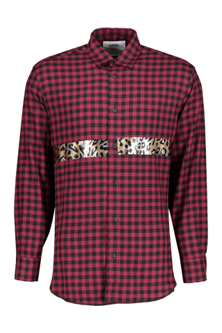 Front view image of Sold Out Long Sleeve Plaid Pulp Shirt