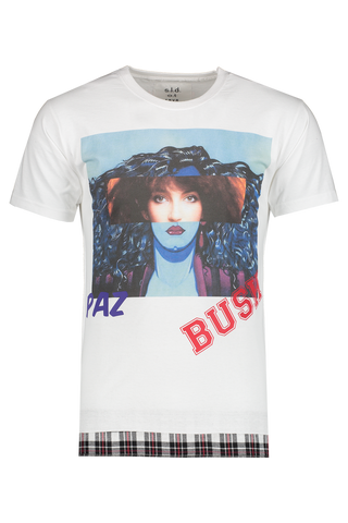 Front view image of Sold Out Short Sleeve Crewneck Paz Bush T-Shirt