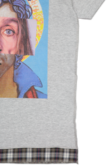Side view image of Sold Out Short Sleeve Crewneck Paz Pop T-Shirt