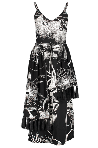 Front view image of Stine Goya Basil Tassel Dress