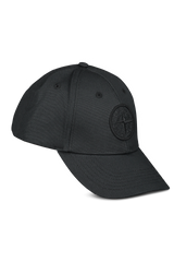 Side view image of Stone Island Black Hat