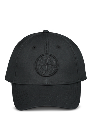 Front view image of Stone Island Black Hat