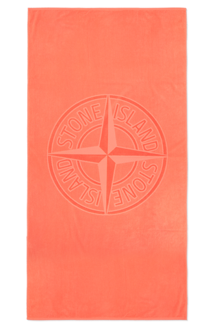 Beach Towel Orange Red