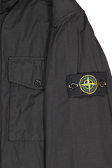Patch Detail Image of Stone Island Black Jacket