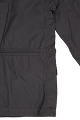 Back Detail Image of Stone Island Black Jacket