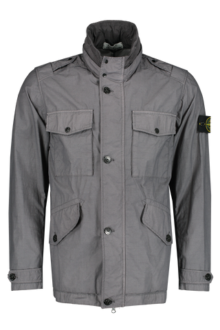 Front Image of Stone Island Blue Grey Jacket