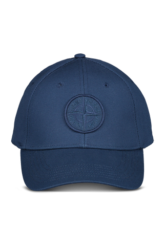 Front view image of Stone Island Blue Marine Hat