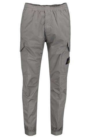 Front view image of Stone Island Casual Blue Grey Pant