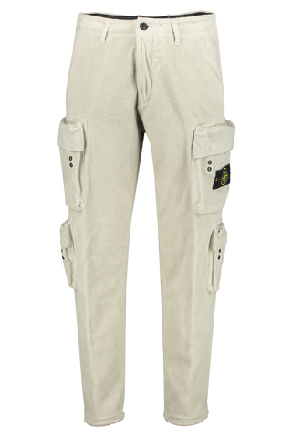 Front Image Of Stone Island Casual Cargo Pant Sand