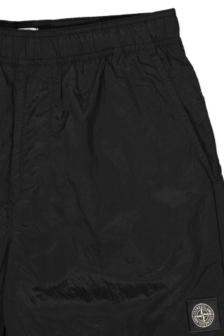 Waistline detail image of Stone Island Casual Shorts Black