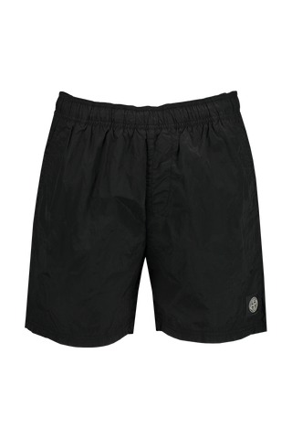 Front view image of Stone Island Casual Shorts Black