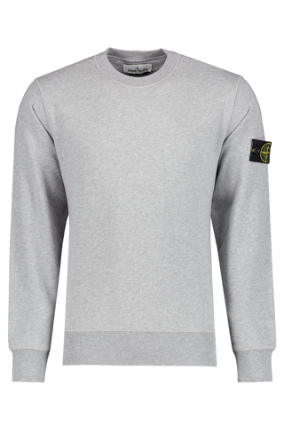 Fleece Crewneck Sweatshirt Melange Grey