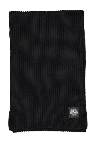 Stone Island Front Image Geelong Wool Scarf